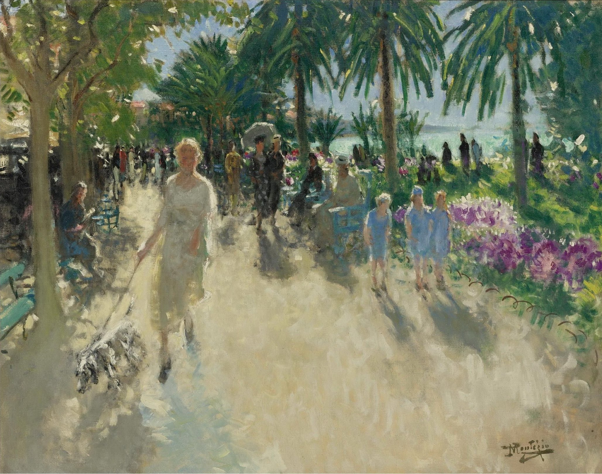 "Картинки по запросу ""promenade de la croisette in paintings"""