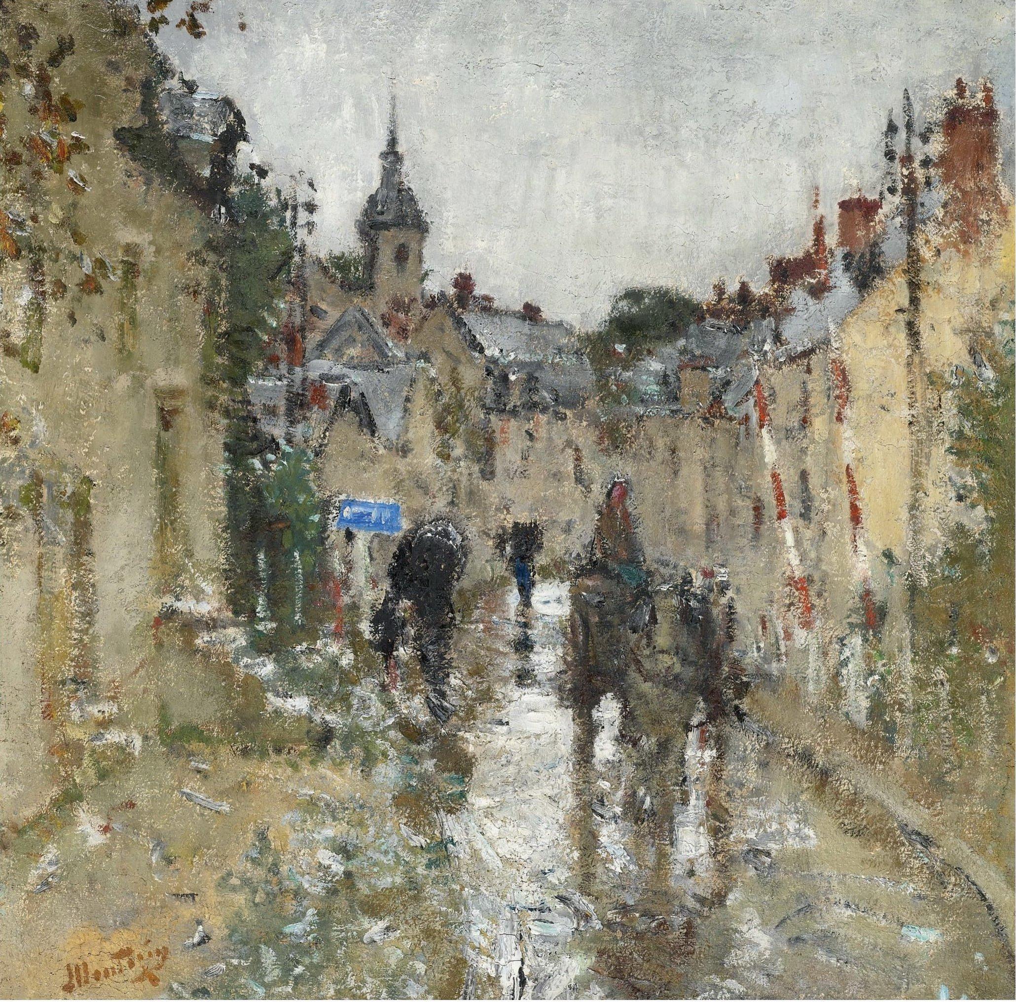 """Картинки по запросу """"импрессионисты дождь"""""""