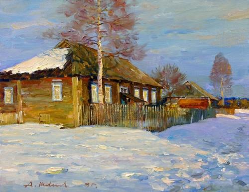 Художник Александр Шевелев (170 работ)
