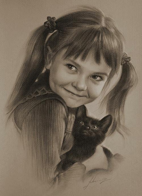 Рисунки в карандаше, Художник krzysztof20d (64 работ)
