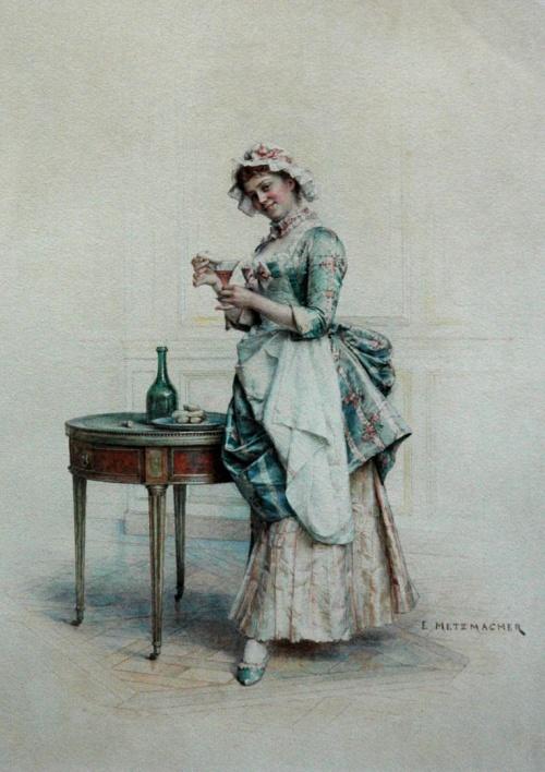Французский художник Emile Pierre Metzmacher (1815-1890) (15 работ)