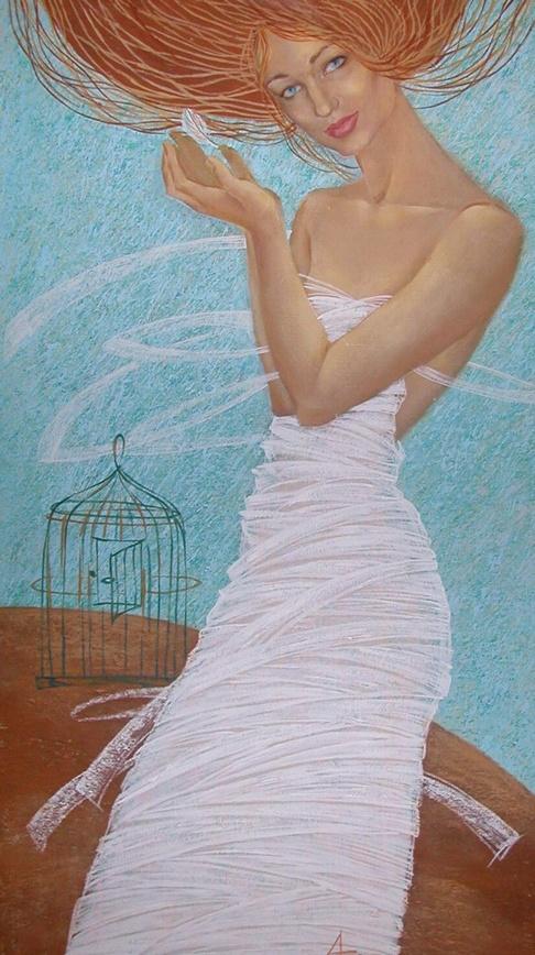 Живопись Екатерины Абрамовой (77 работ)
