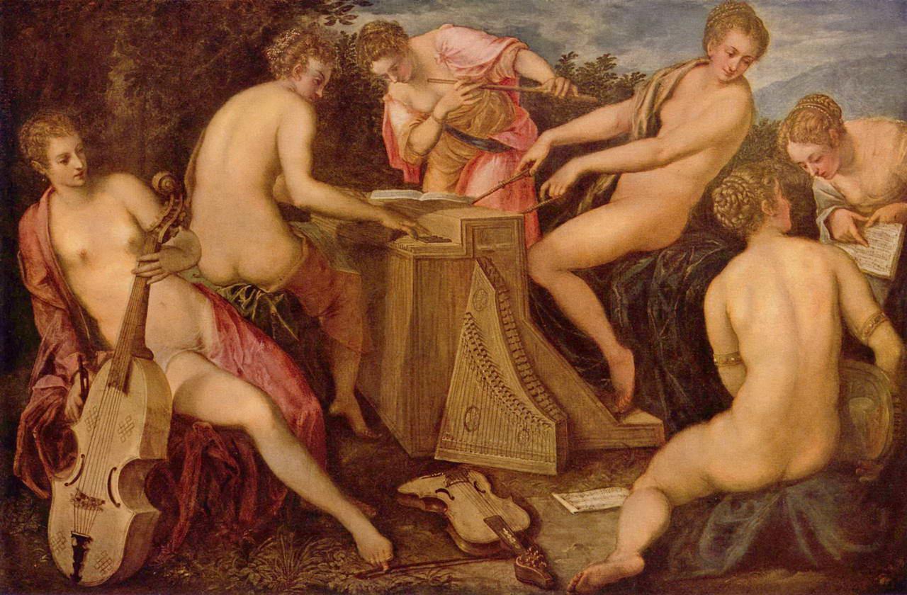 Эротическое искусство италии