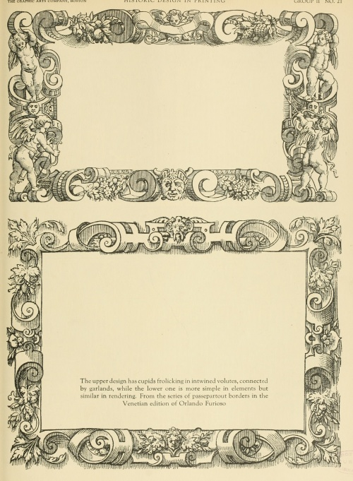 Historic design in printing (1923) (185 фото)