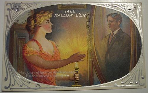 Halloween cards | Хэллоуин - открытки (90 работ)