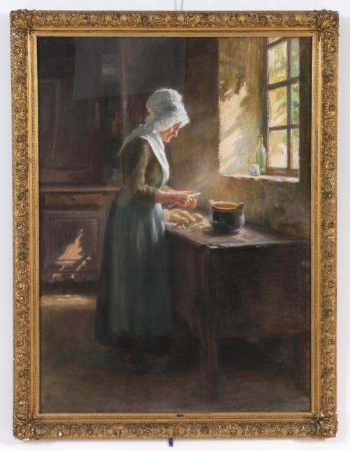 Шведский художник Hugo Salmson (1843-1894) (22 работ)