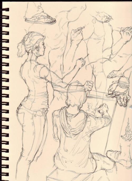 Живопись и рисунки Gue Yang (350 работ)