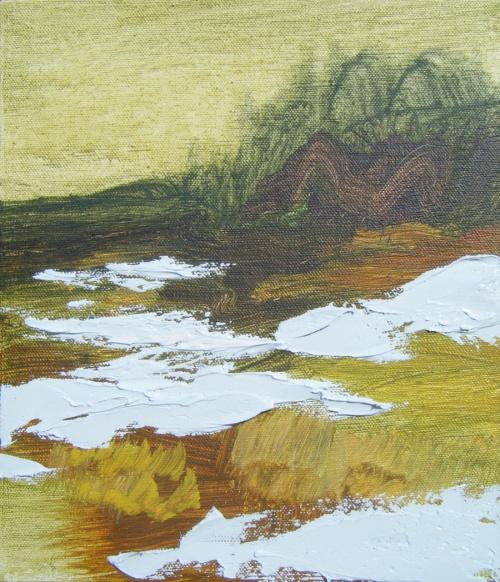 Абстрактные пейзажи Lauren Adams (95 работ)