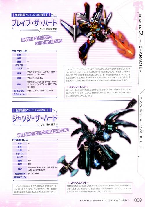 Artbooks - Hyper Dimension Neptunia MK2 the Visual Complete Guide (90 работ)