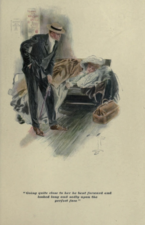 American illustrator Harrison Fisher (1877 – 1934). Часть 1 (28 работ)