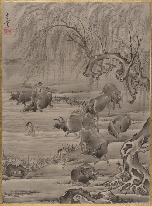 Kawanabe Kyosai (Japanese, 1831–1889) (41 работ)