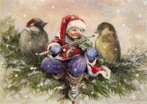 Magical world - children and gnomes | Волшебный мир - дети и гномы (58 работ)