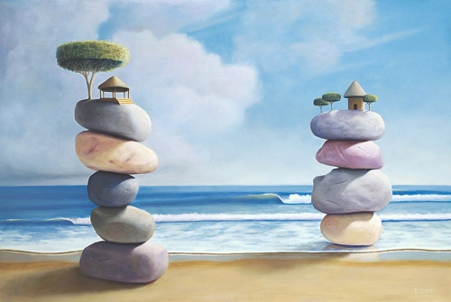 Искусство Пола Дэвида Бонда (60 работ)