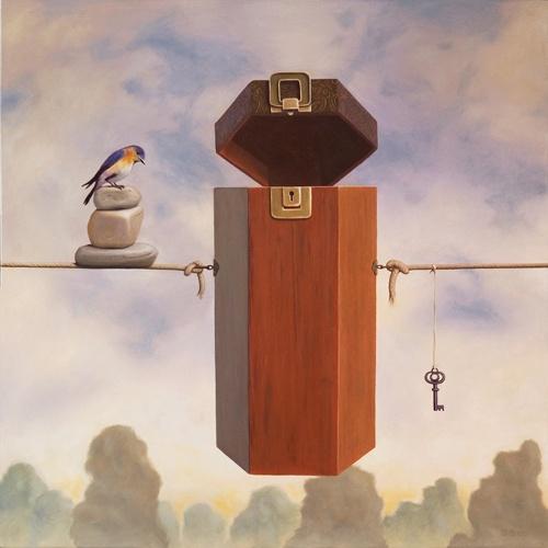 Сюрреалист Paul David Bond (59 работ)