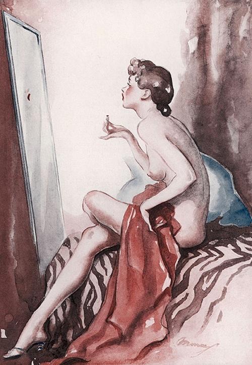 Забытые иллюстраторы - Webster Murray (18 работ)