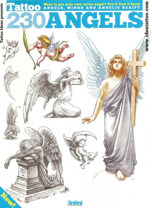 Tattoo - Sketchbook - 230 Angels (66 фото)