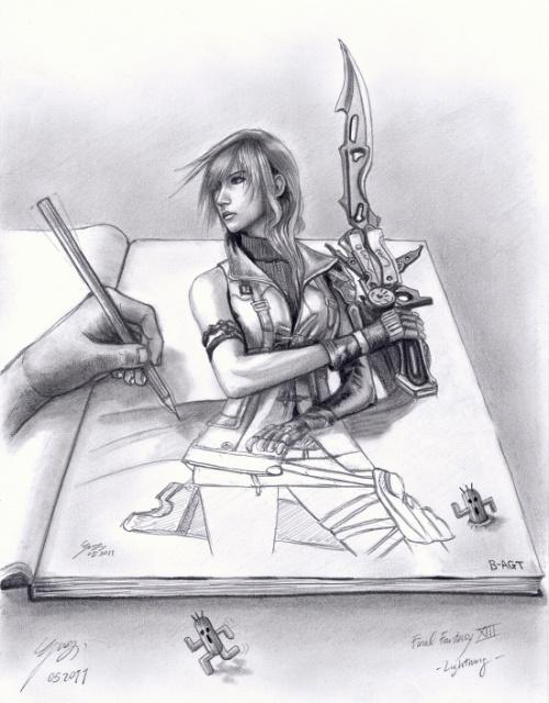 Черно - белые рисунки иллюстратора из германии под ником B-AGT (94 работ)