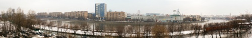 Panoramic photos of Moscow (156 фото)