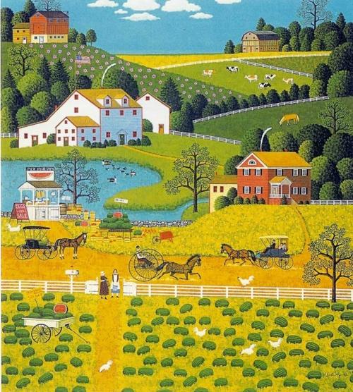 Художник Чарльз Высоцки (Charles Wysocki) (68 работ)