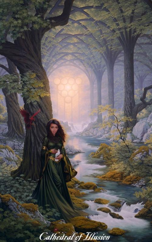 Мистические картины Джонатана Эрла Баузера (Jonathon Earl Bowser) (70 работ)