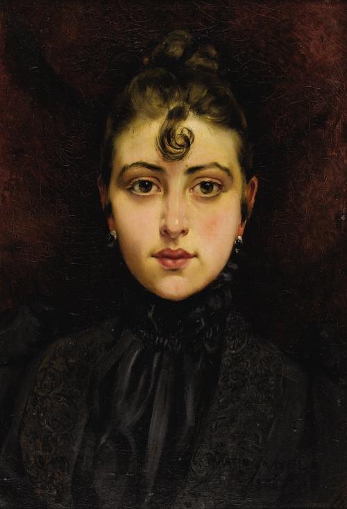 Французский художник Francois Martin-Kavel (1861-1931) (56 работ)