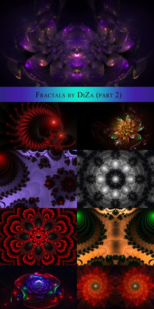 Фракталы (часть вторая) (39 работ)