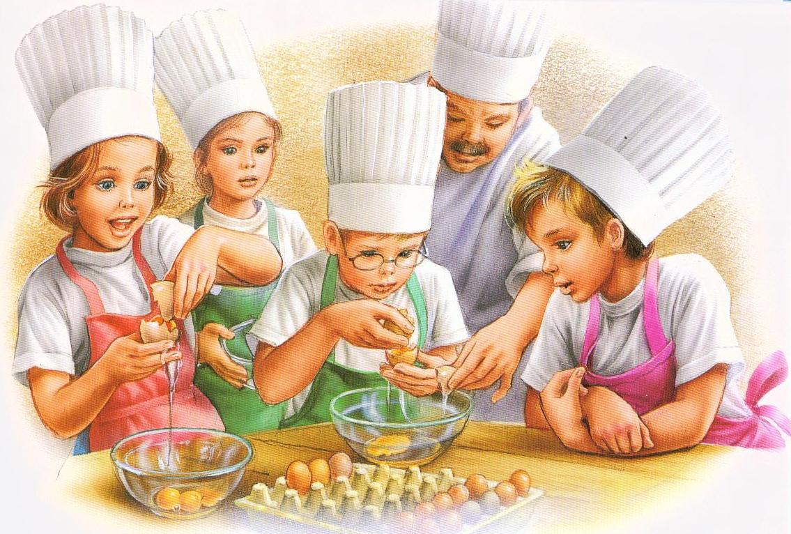 Картинки поварёнка карандашом
