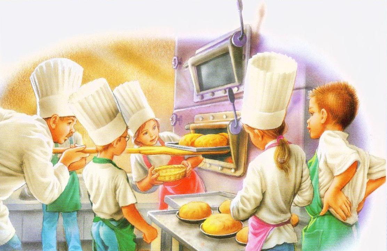 Повар сюжетные картинки для детей