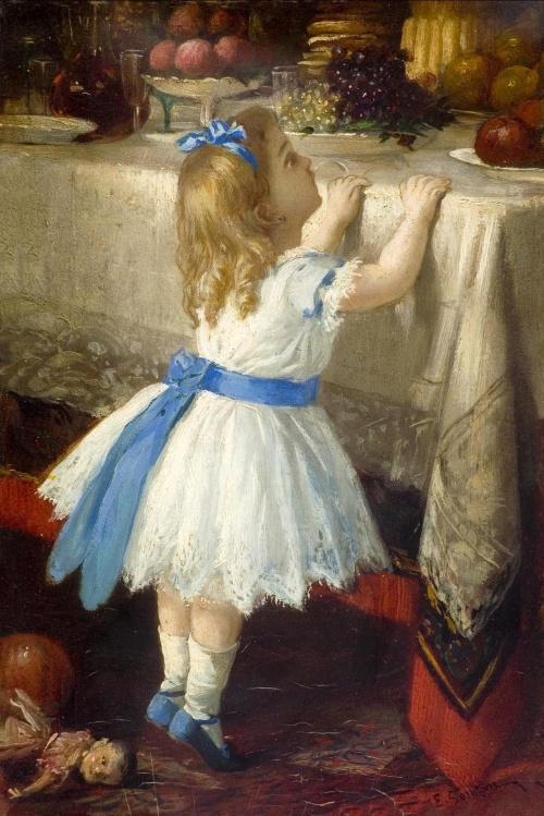 Французский художник Jules Emile Saintin (1829-1894) (27 работ)