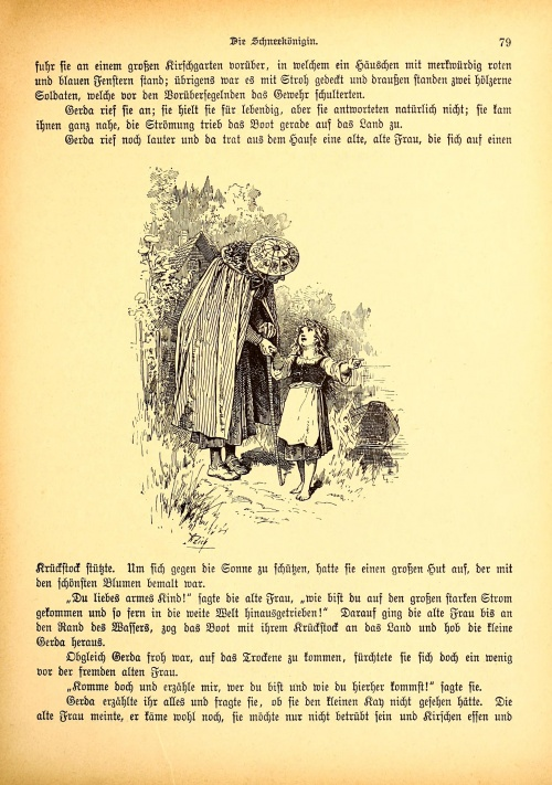 Иллюстрации к книге Marchen fur Kinder (1907) (50 работ)