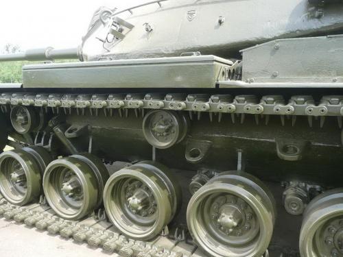 Американский основной танк M60A1 (64 фото)