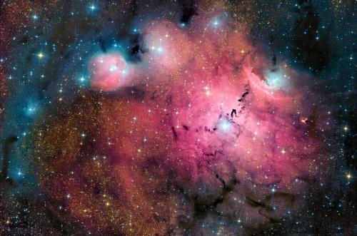 Красоты космического пространства (32 работ)