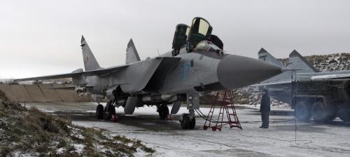 Истребитель МиГ-31 (18 фото)