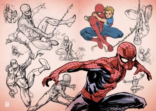 Марк Брукс (Mark Brooks) - американский иллюстратор комиксов (196 работ)