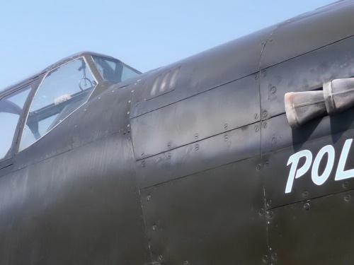 Американский истребитель North American P-51A-1NA Mustang (82 фото)