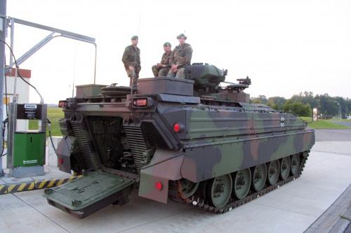 Немецкая БМП SPz Marder 1A5 (53 фото)