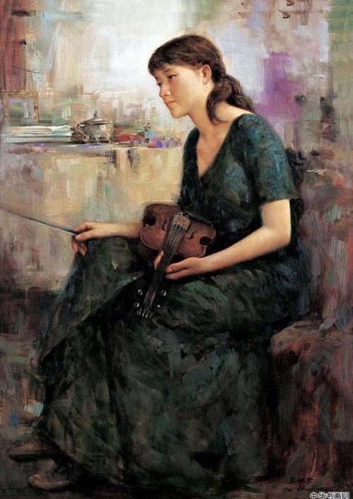 Artworks by Ou Chujian (32 работ)