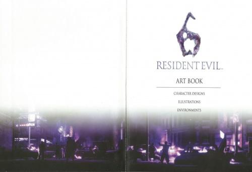 Resident Evil 6 Artbook (53 работ)