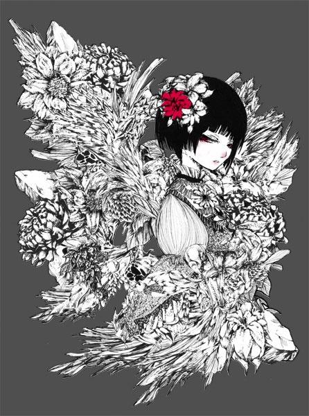 Pixiv Artist - Mii~ina (67 работ)