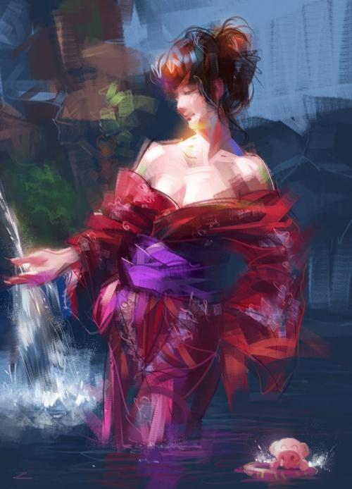 Artist Zhu Haibo (300 работ)