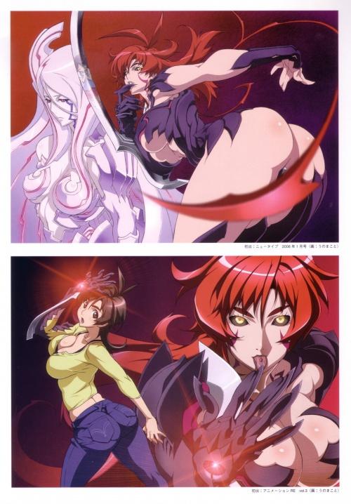 Artbooks Uno Makoto - Witchblade (25 работ)