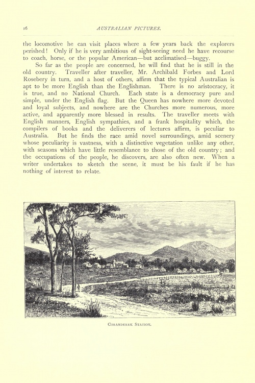 Australian pictures drawn from pen and pencil (1886) (114 работ)