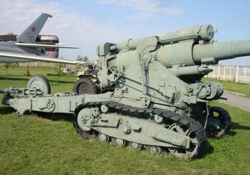 Советская 203-мм гаубица образца 1931 года (Б-4) (30 фото)