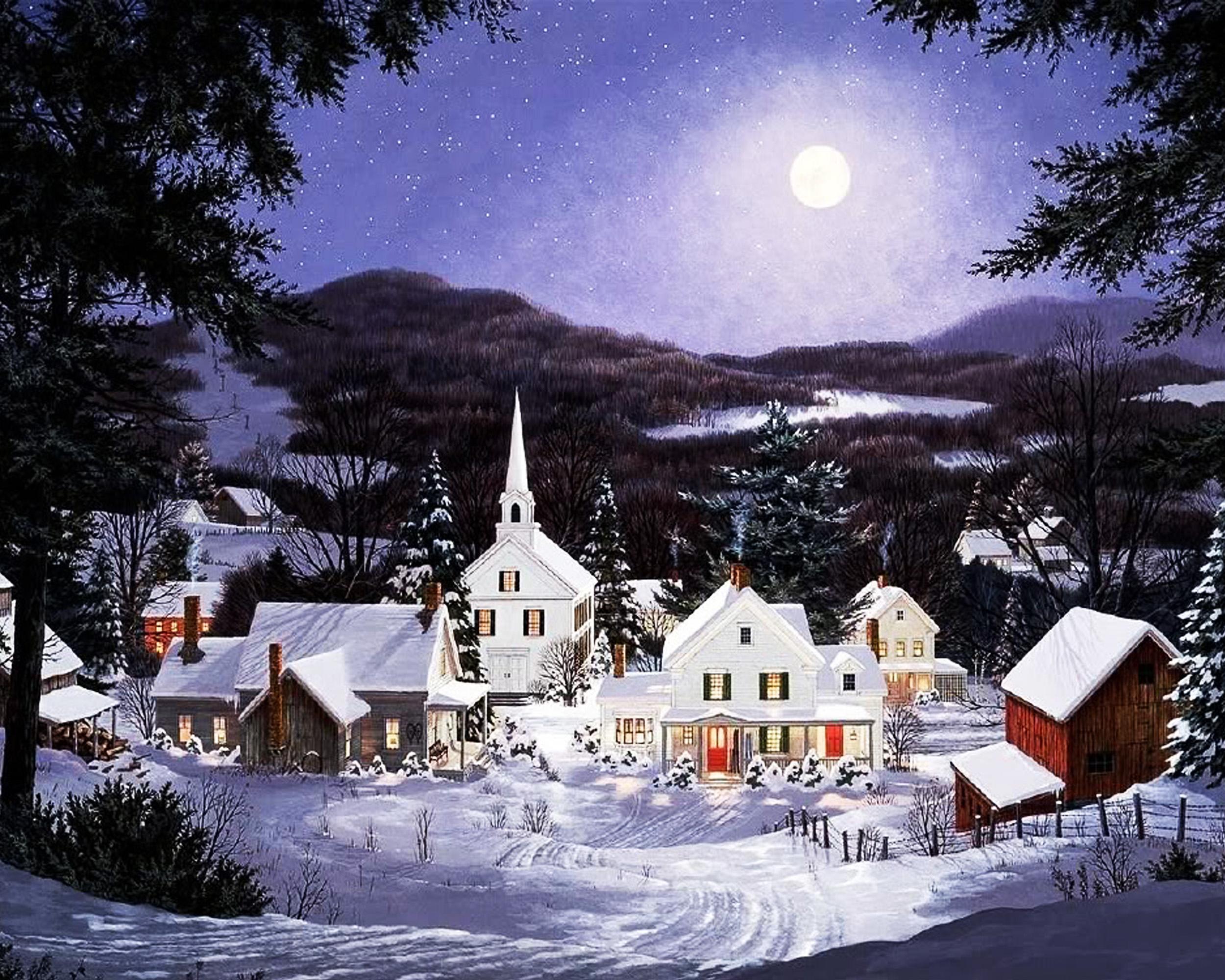 Fred swan 60 - 3d hintergrundbilder kostenlos weihnachten ...