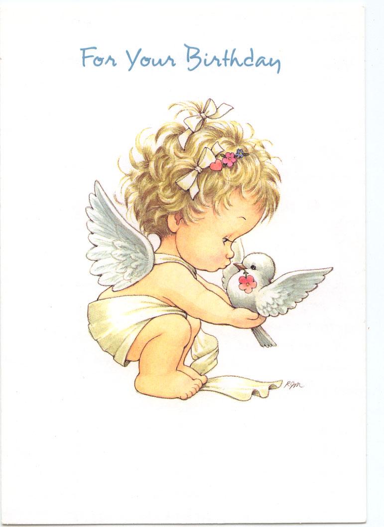 желаний открытки с ангелом на день рождения нормальных условиях