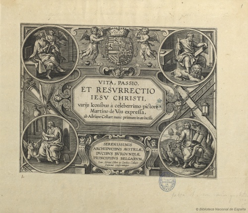 Flemish designer and engraver Adriaen Collaert (ca.1560 – 1618)  (66 работ)