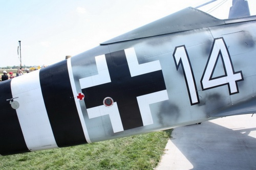 Немецкий истребитель FW-190A-9 (48 фото)