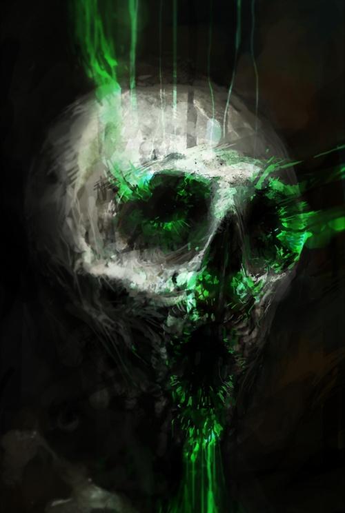 Крис Колд (Chris Cold) - фантастические миры цифрового художника (139 работ)