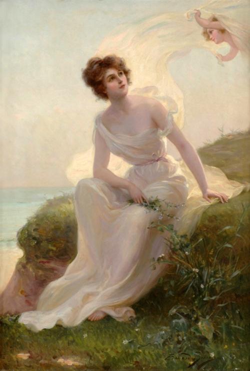 Французский живописец Edouard Bisson (1856-1939) (55 работ)
