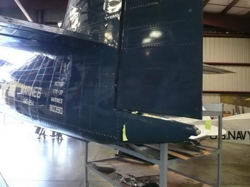 Американский палубный истребитель Grumman F7F-3P Tigercat (67 фото)